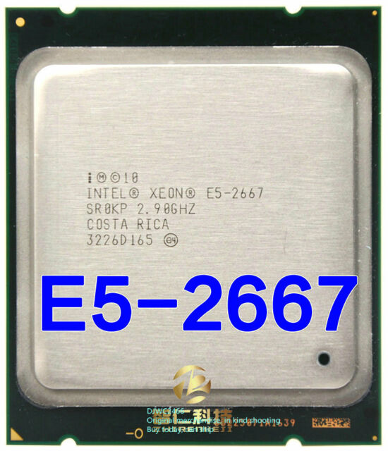 Intel Xeon E5-2667 (SR0KP) 2.9GHz / Six Core / 15M /2011 Server Processor
