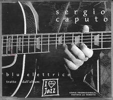 "SERGIO CAPUTO - RARO CDs PROMO "" BLU ELETTRICO """