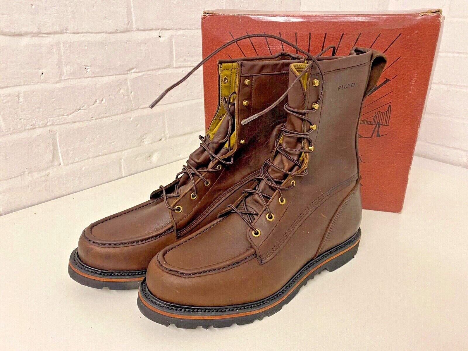 FILSON Uplander Boots UK 12 New & Boxed - New old stock - Out of Production
