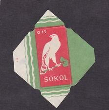 Etiquette de lame de rasoir  Tchécoslovaquie  BN18297 Aigle 4