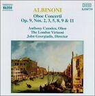 Albinoni: Oboe Concerti, Op. 9 (CD, Feb-1994, Naxos (Distributor))