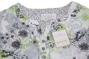 Karen-Neuburger-Floral-Nightgown-Nightshirt-S-Small-NEW-NWT-FREE-PRIORITY-SHIP