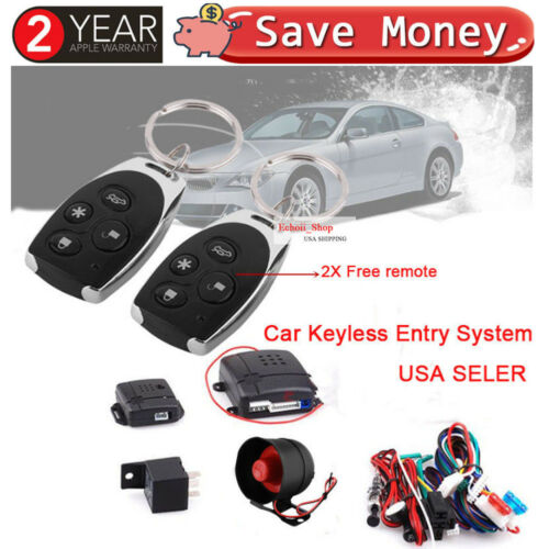 Car Vehicle Remote Central Security Door Lock Keyless Entry System Alarm UK SALE