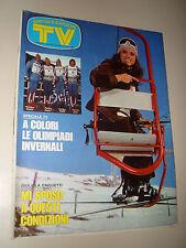 TV SORRISI CANZONI=1976/5=GIGLIOLA CINQUETTI=OLIVER ONIONS=SPAZIO 1999=SANDOKAN=