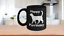 miniature 1 - Happy Purrthday Mug Black Coffee Cup Funny Gift Cat Lover Mom Dad Owner Birthday