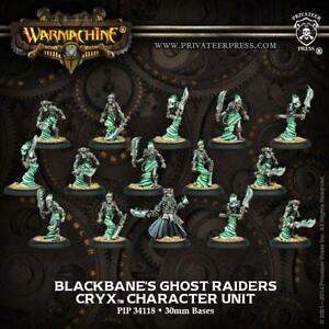 Privateer Press Warmachine Cryx Blackbane's Ghost Raiders Unit of 15 PIP 34118