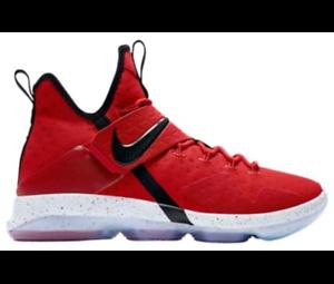 Nike Men's Lebron XIV- University Red/White/Black: 52405600
