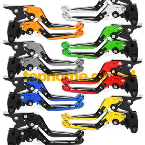 7 Style Levers For Triumph SPEED TRIPLE 2008-2010 Clutch Brake Short Long Fold