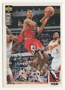 nba UPPER DECK 1994 COLLECTOR'S CHOICE - Scottie Pippen # 33  BASKETBALL CARD