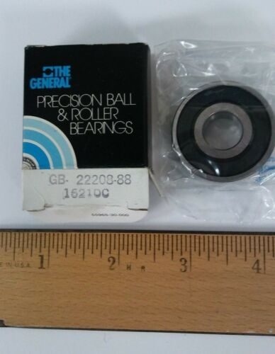 NOS General Bearing Precision Ball /& Roller Bearings 1621DC 22208-88 New In Box