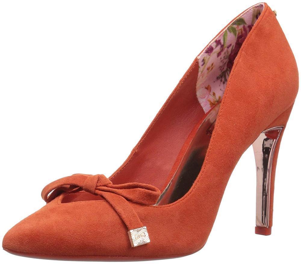 Ted Baker damen Gewell Pumps Classics Classics Classics Stiletto High Heel Leather Slip-On Sandal c38b19