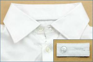 White-Cotton-Collar-Extender-Business-Shirt-Blouse-Cuff-Extension-Neck-Size-Tie