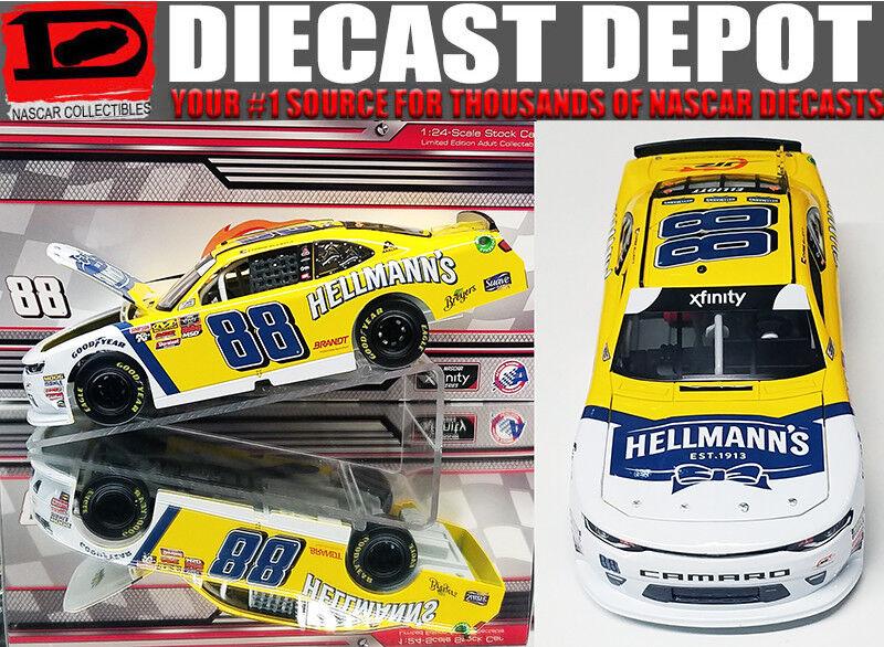 CHASE ELLIOTT 2018 HELLMANS 1 24 SCALE  ACTION NASCAR DIECAST