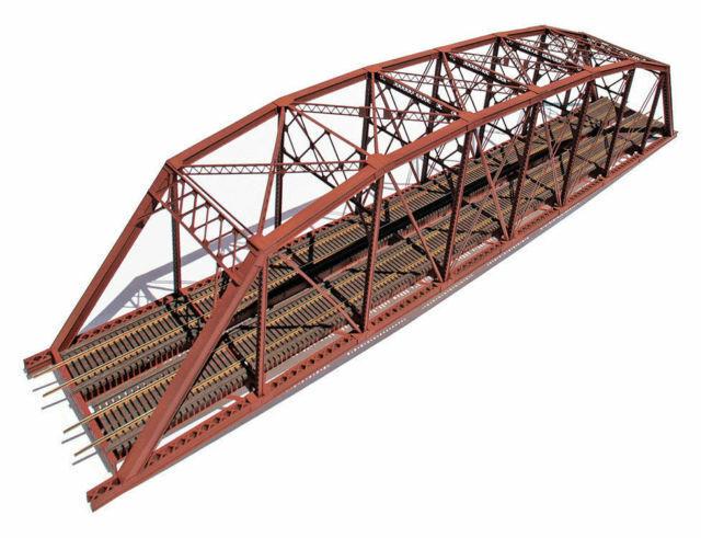 Valle Central Modelos 1900, Escala Ho, 200' Kit de doble vía Puente Parker