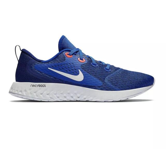 Nike Men's Legend React Running Shoes Indigo Force White AA1625–405 Size 11