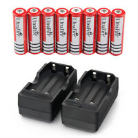 8x-Ultrafire-4000mAh-18650-Battery-3-7v-Li-ion-Rechargeable-Batteries-2x-Charger