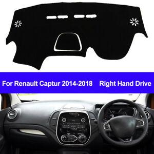 Car Inner Dash Mat Dashboard Cover For Renault Captur 2014 2015