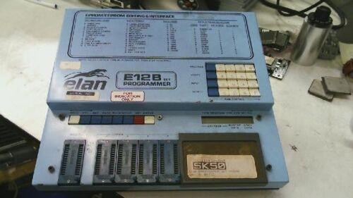 Elan Digital Systems E12B Set Programmer EPROM EEPROMM Editing Interface 220V
