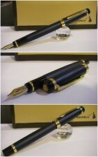 Stilografica Kaigelu 316 Navy Satinato fountain pen Nib two-tone siz.M