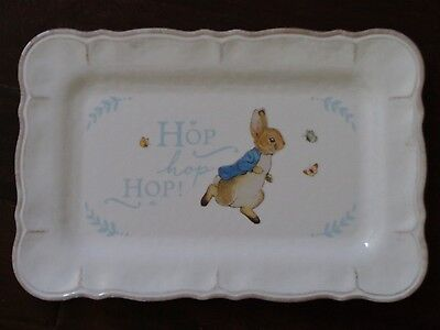 New Pottery Barn Melamine Beatrix Potter Peter Rabbit