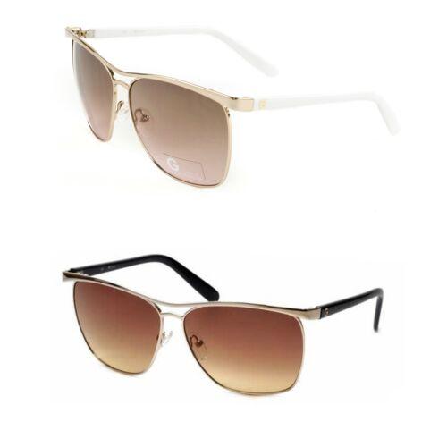 GUESS Women/'s Drama Square Sunglasses GGU1117 $98 NEW