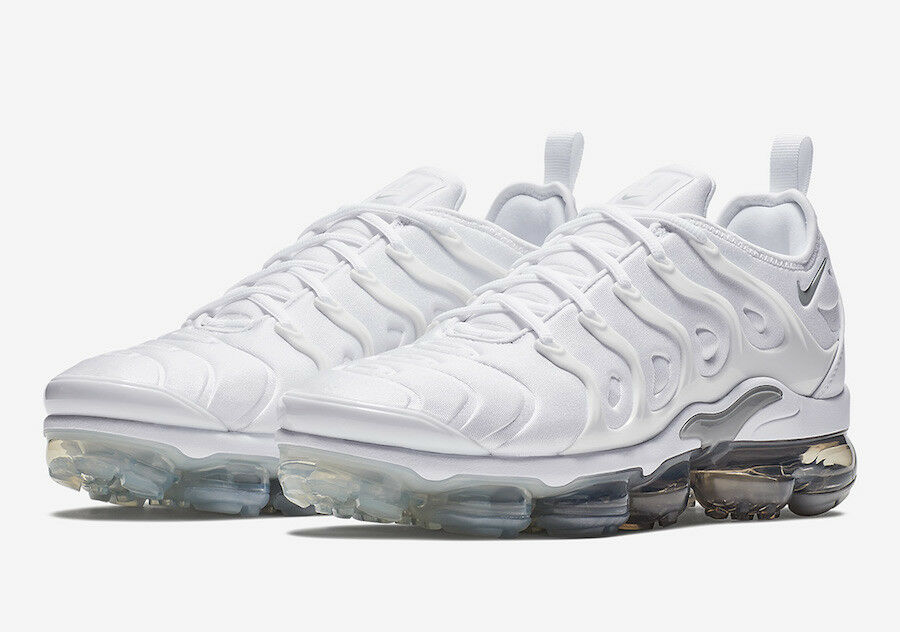 Men's Brand New Air VaporMax Plus  Wolf Grey  Fashion Sneakers [924453 102]