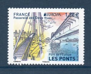 TIMBRES-5218-NEUF-XX-LUXE-EUROPA-ARCHITECTURE-DU-PATRIMOINE-LES-PONTS