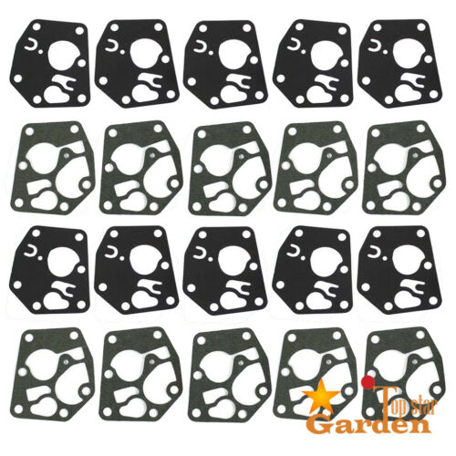 10set Carburetor Diaphragm Gasket Kit For Briggs /& Stratton 495770 795083 DHK