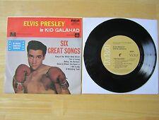 Elvis 45rpm EP Record & Picture Sleeve, Kid Galahad, RCA # 20274, Australia