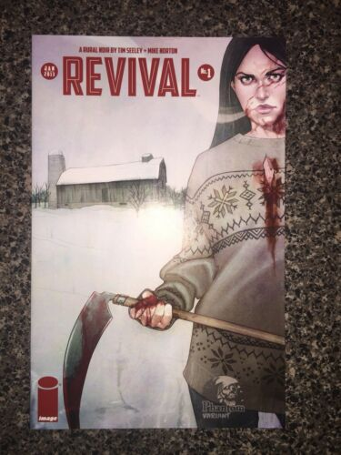 Revival #1 Phantom Variant NM condition Tim Seeley and Mike Norton
