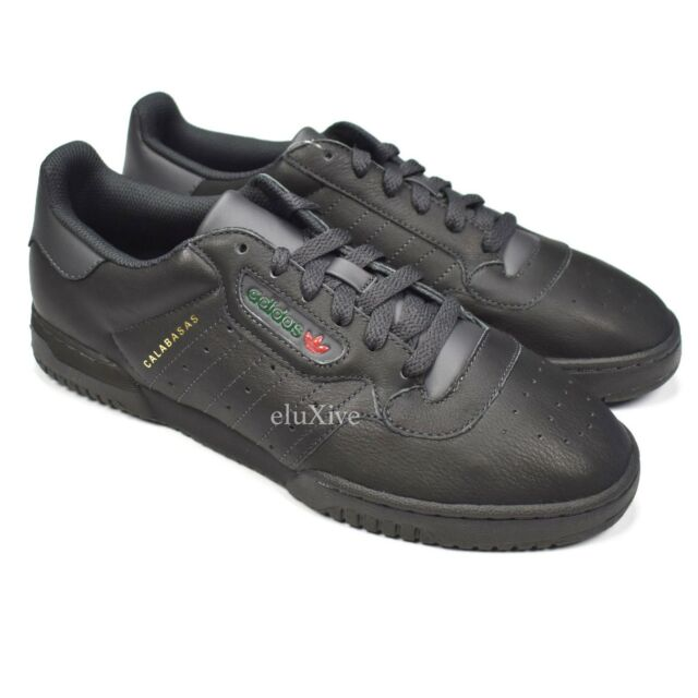 a145d6295247 NWT Adidas Yeezy Powerphase Calabasas Core Black Leather Kanye West DS  AUTHENTIC