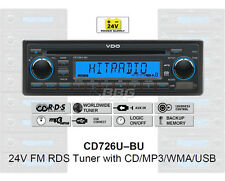 24 Volt LKW Radio RDS-Tuner CD MP3 WMA USB Truck Bus 24V CD726U-BU (CD7326U-OR)