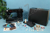 Janome Hd1000 Sewing Machine Sews Leather Upholstery Canvas +lots Of Accessories