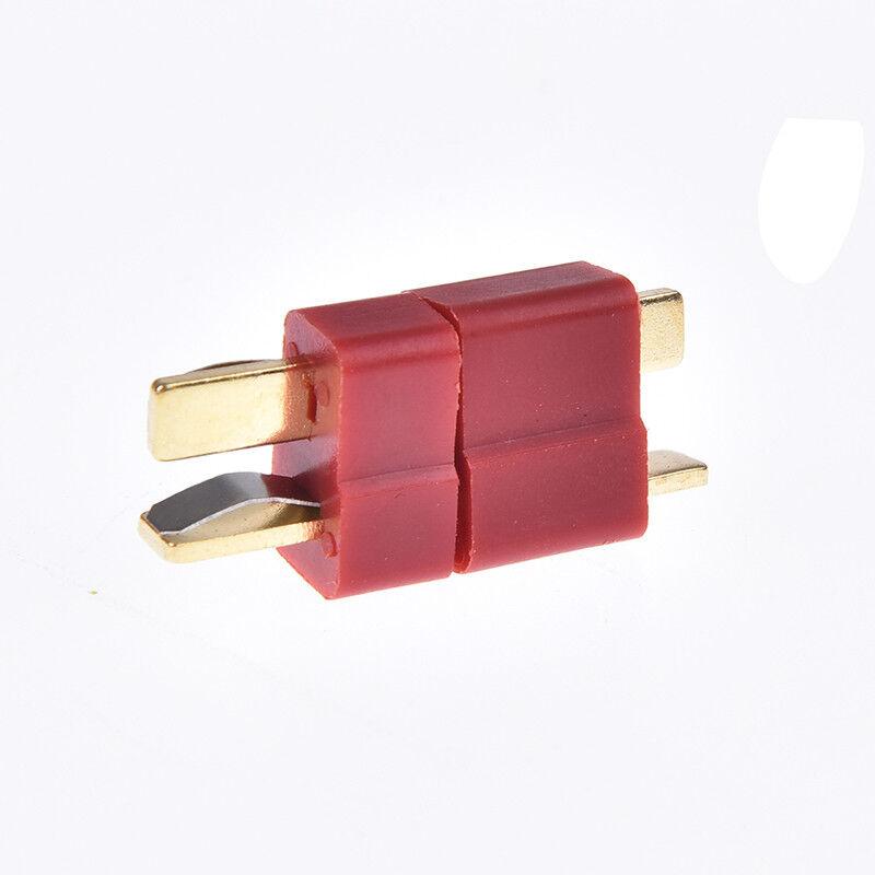 10pairs//20pcs t plug male /& female deans connectors style for rc lipo batt TC