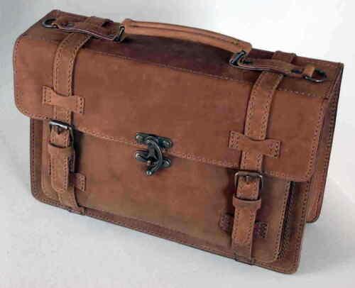 1a A5 Nuovo di Saddlery alta qualità Din Cartella pelle formato in cuoio bufalo Cartella QCordWBeEx