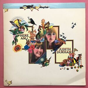 Judith-Durham-Here-Am-i-A-amp-M-Records-AMLB-51035-Ex-Condizioni-A1-B1