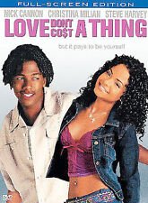 Love Don't Cost a Thing (Full Screen), New DVD, Nick Cannon, Christina Milian, J