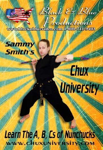 Sammy Smith's Chux University Learn the A, B, Cs of Nunchucks Instructional DVD