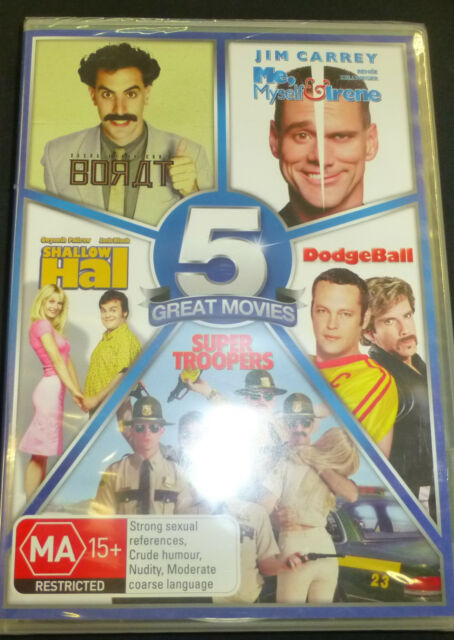 5 Great Movie Collection Dvd ( BRAND NEW AND SEALED )