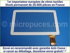 """Vitre tactile * NEUVE * blanche 10.1"""" pouces 50 pin RP-379A-10.1-FPC (18375)"""