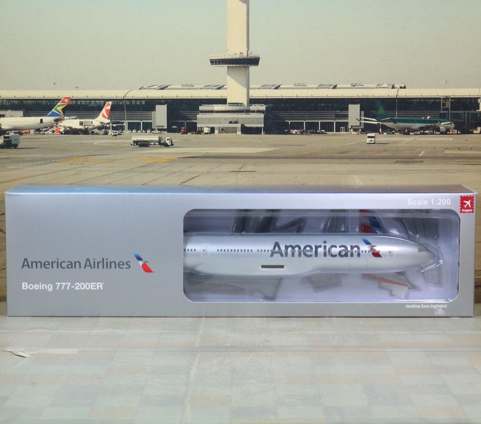 Hogan American Airlines (NC) Boeing B777-200ER 1 200