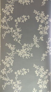 GRAY-AND-SILVER-LEAF-VINE-PREPASTED-SOLID-VINYL-WALLPAPER-SW29189