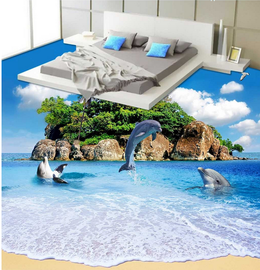 3D Island 401 Fototapeten Wandbild Fototapete Tapete Familie DE Lemon