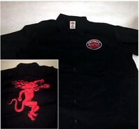 Fireball Whiskey Black Worker Shirt Small, Medium, Large, Xl, 2xl