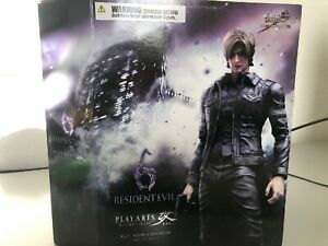 Details About New Play Arts Kai Resident Evil 6 Leon S Kennedy Original Action Figure Sealed