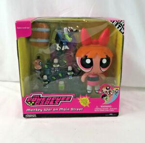 Custom Powerpuff Girls Blossom Pink Mini Figure Retro to fit well known brand