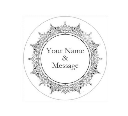 """2/"""" PERSONALIZED CUSTOM STICKERS LABELS BABY SHOWER WEDDING GRADUATION #10P"""