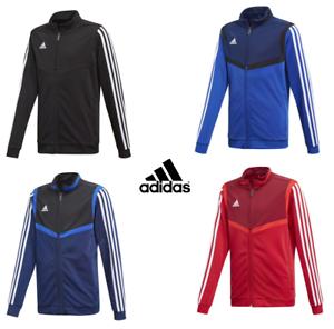 Adidas-Boys-Junior-Kids-Tiro-19-Zip-Tracksuit-Top-Jacket-Jumper-Sweatshirt