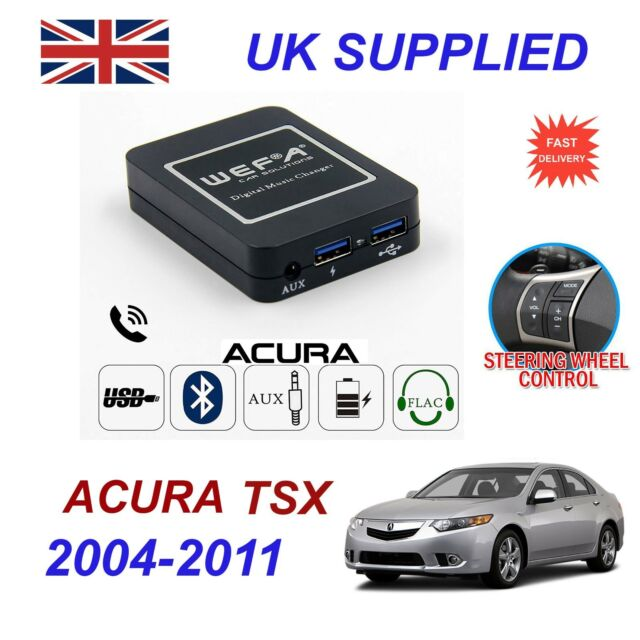 For Acura TSX Music Streaming Bluetooth Telephone Charger
