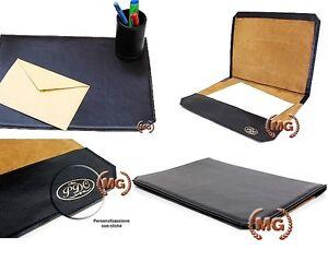 Idee Regalo Per Ufficio : Sottomano in pelle oggetto di pregio per ufficio idea regalo